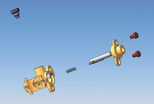Рис. 4. Анимация позволяет наглядно показать процесс сборки-разборки изделия.