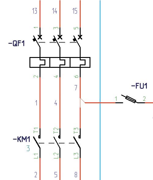 Рис. 2. Символ соединения