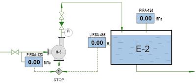 Рис. 8. Информационное обеспечение (эскизы видеокадров станции оператора, мнемосхемы) .