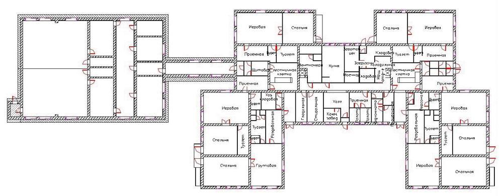 План первого этажа в формате