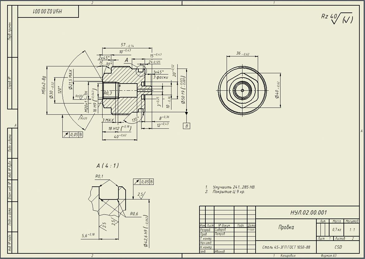 Гост 2. 113-75* единая система конструкторской документации.