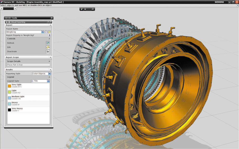Рис 5 технология hd3d дает возможность загружать облегченные модели деталей и получать визуальные отчеты