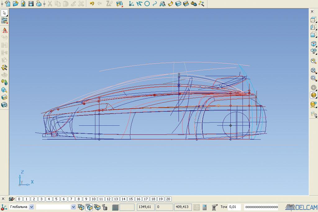 программа для проектирования автомобилей