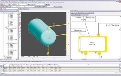 6-7) AVEVA Diagrams- разрабатываем технологические схемы, схемы ОВиК и однолинейные схемы электрики.
