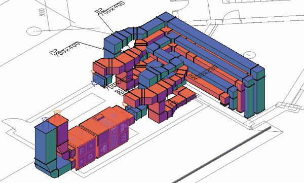 Программа Проектирования Вентиляции 3d