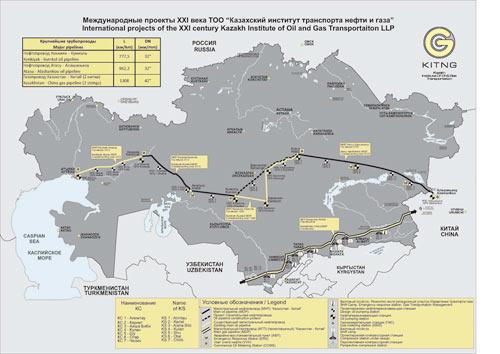 Казахский институт транспорта нефти