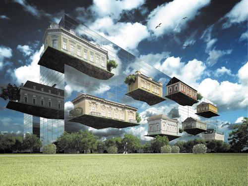 Дмитрий Сивак, Одесская государственная архитектурно-строительная академия, проект — жилой комплекс на 1500 жителей, приз — смартфон HTC Hero