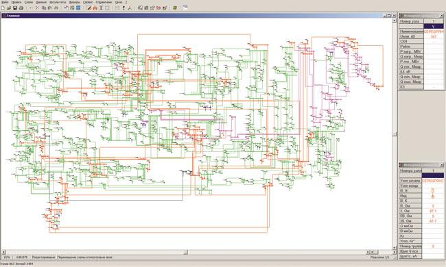 Программа визуализации расчётной схемы.