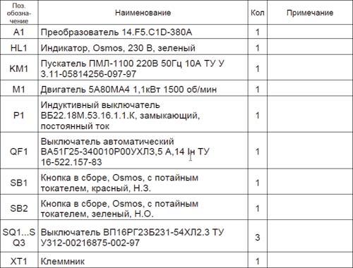 Условные обозначения в электрических схемах: графические и буквенные по 152