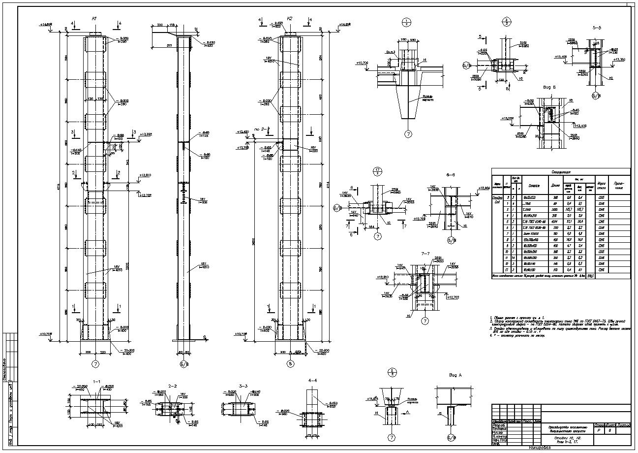 Типовые Серии По Металлоконструкциям