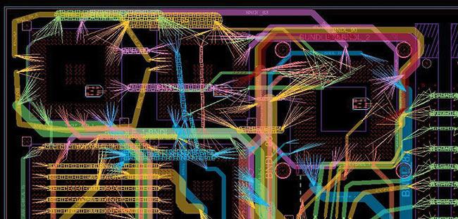 Рис. 1. Технология планирования соединений на плате Allegro Interconnect Flow Planner позволяет пользователям уменьшить число слоев и значительно сократить длительность цикла разработки сложных плат