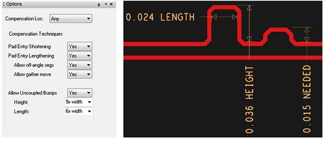 Рис. 3. Инструмент Auto-Interactive Phase Tuning для автоматической подстройки динамической фазы в дифференциальной паре