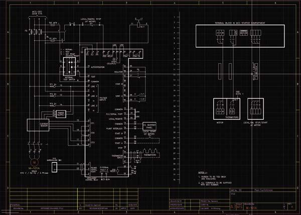Работа со схемами в приложении