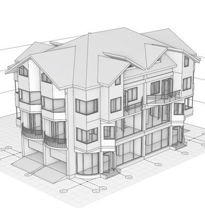 Рис. 6. Крыша со слуховыми окнами