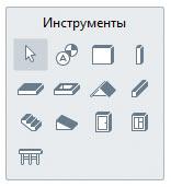 Рис.1. Основные инструменты Renga Architecture
