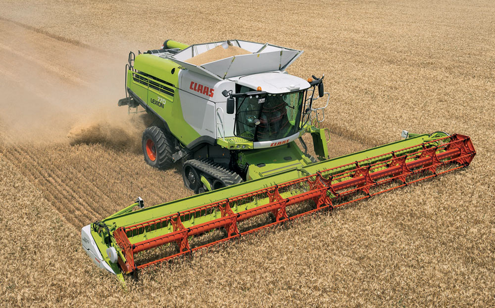 Комбайн CLAAS Lexion 700 Series